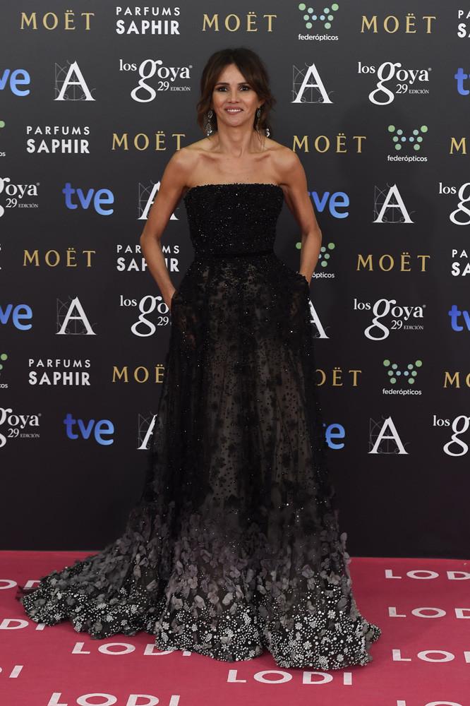 La actriz Goya Toledo en los Goya 2015.