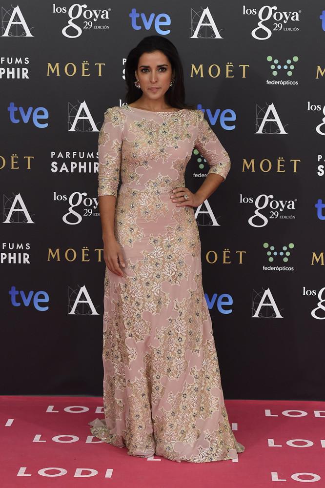 La actriz Inma Cuesta en los Goya 2015
