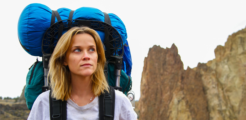 Reese Witherspoon interpretando a la valiente Cheryl Strayed