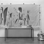 Recreation of First Public Demonstration of Auto-Destructive Art 1960, remade 2004 by Gustav Metzger born 1926