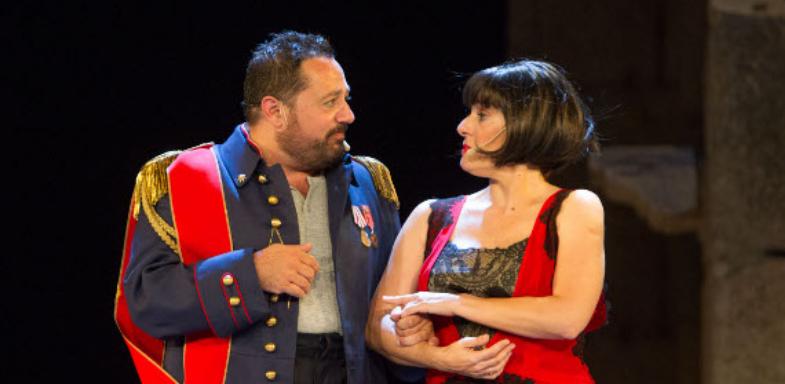 Pepón Nieto y Anabel Alonso