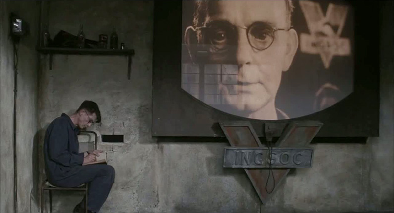 Fotograma de la película '1984', basada en el libro de George Orwell