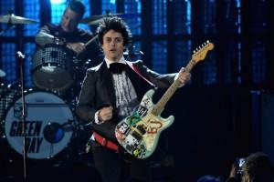 Green Day en el Salón de la Fama / Fuente: vivelohoy.com