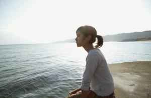 "Captura de la película ""Aguas Tranquilas"" de Naomi Kawase"