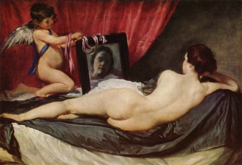 """Venus del espejo"", de Diego Velázquez"