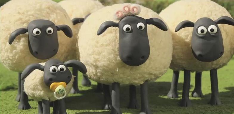Escena de La Oveja Shaun: la película