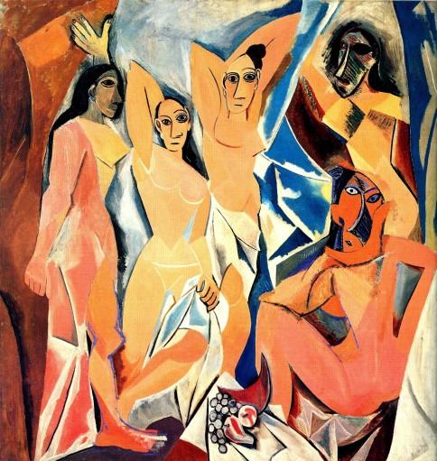 """""""Las señoritas de Avignon"""", de Pablo Picasso"""