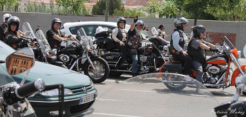 Harley Davidson concentracion