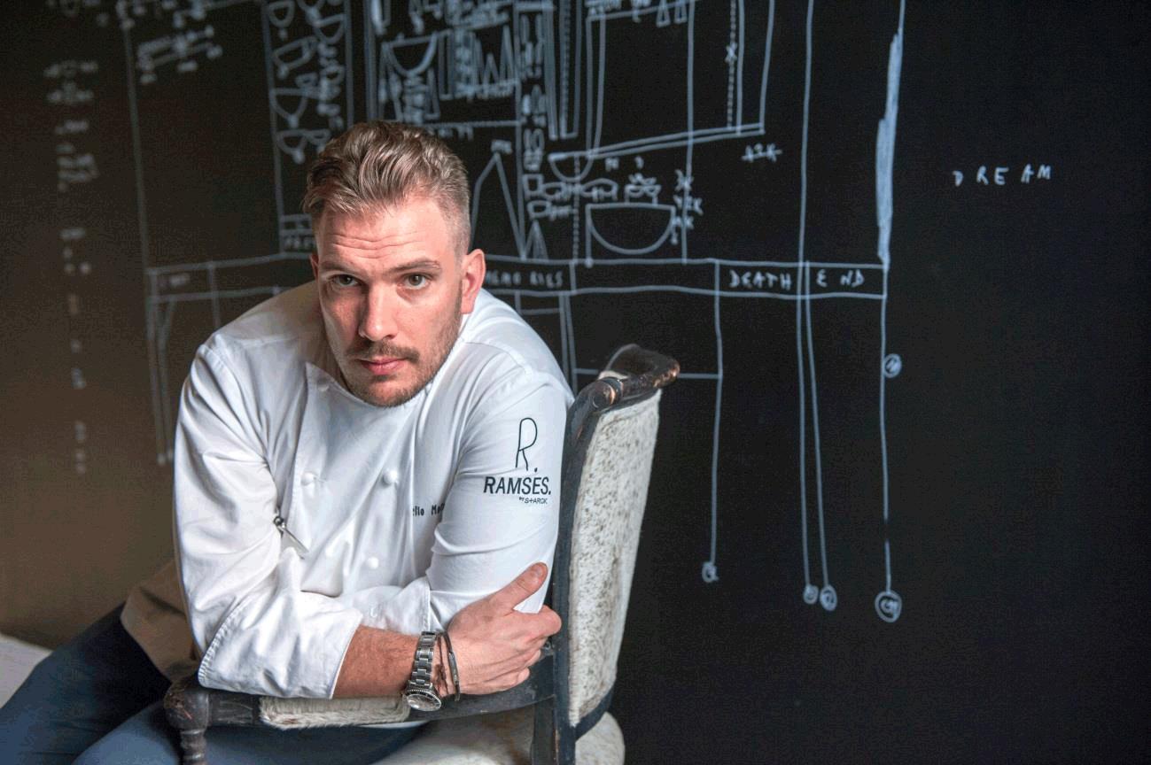 El chef Aurelio Morales