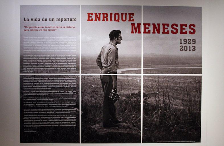 Enrique Meneses - La vida de un reportero