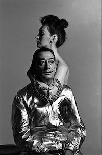 Meneses retrata a Dali