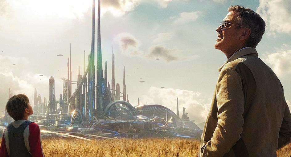 Tomorrowland ha sido rodada en parte en la Ciudad de las Artes y las Ciencias, en Valencia
