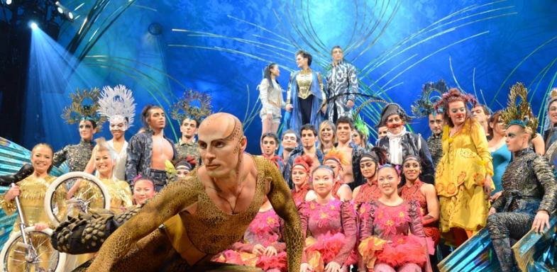 Actores de Amaluna, Circo del Sol