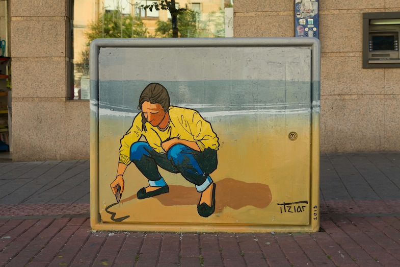 Dibujando en la arena, Itziar Sánchez Chincharro