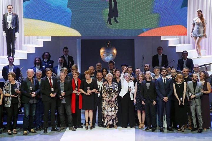 Foto de los ganadores / Fuente: @PremiosMax
