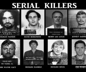 Algunos de los asesinos en serie más famosos