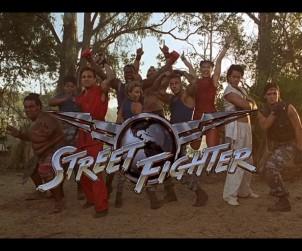 """Fotorafía de los personajes de la película """"Street Fighter"""" (1994)"""