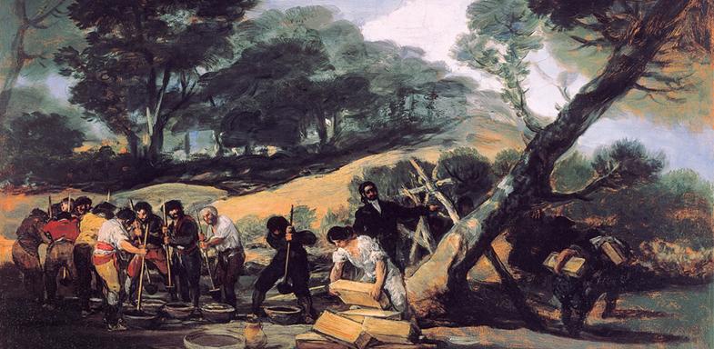 Fabricación de Pólvora de Tardienta de Goya