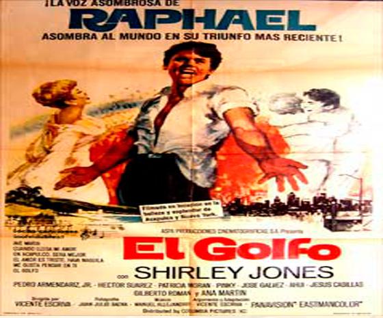 """Cartel promocional de """"El Golfo"""""""