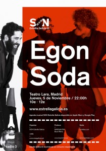 Cartel Egon Soda