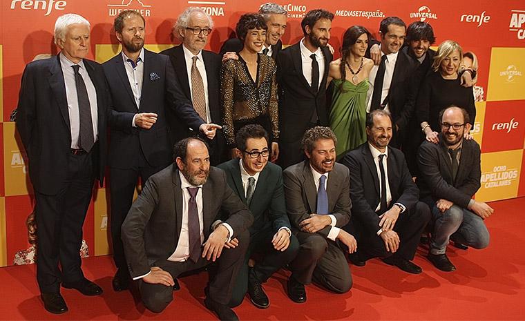 """El equipo de """"Ocho apellidos catalanes"""""""