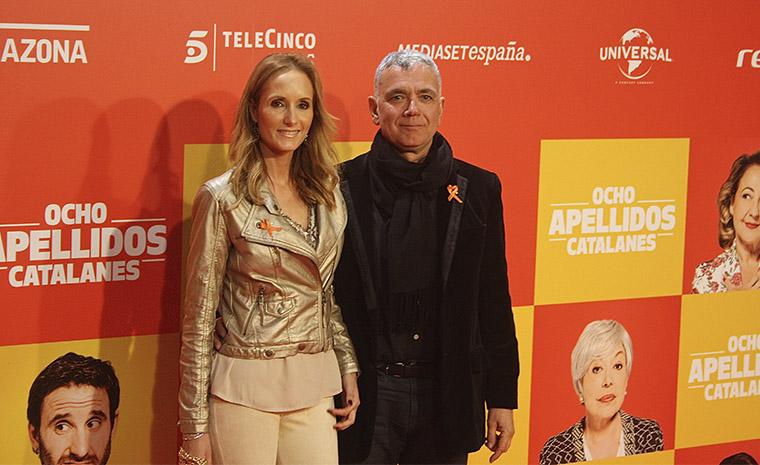 Sandra Ibarra y Juan Ramón Lucas