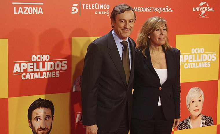 Rafael Hernando y Alicia Sánchez Camacho