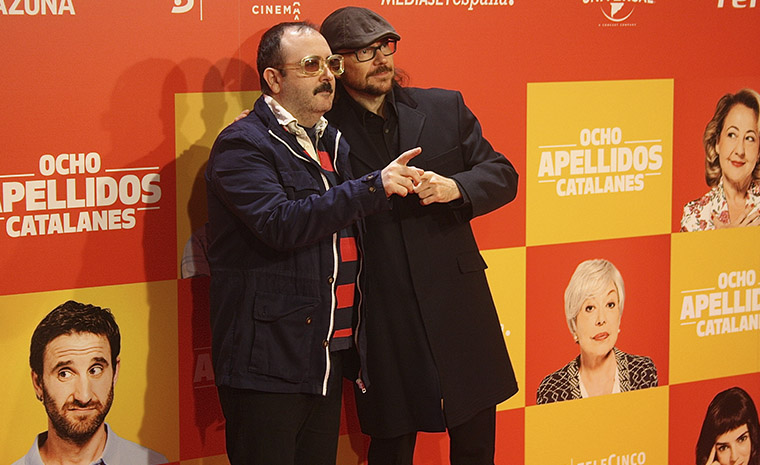 Carlos Areces y Santiago Segura