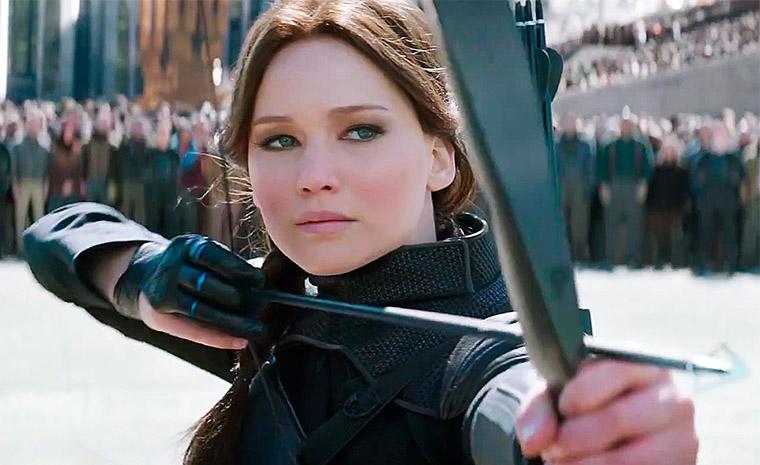 Jennifer Lawrence se mete por última vez en la piel de Katniss Everdeen