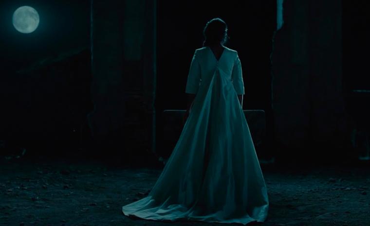Una escena de 'La novia', con la Luna simbolizando la muerte