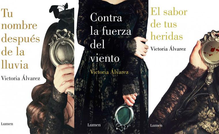 Los tres libros que componen la trilogía 'Dreaming Spires'