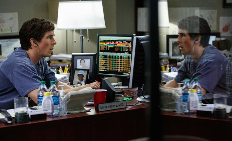 Christian Bale, nominado al Oscar a mejor actor de reparto, se mete en la piel de Michael Burry