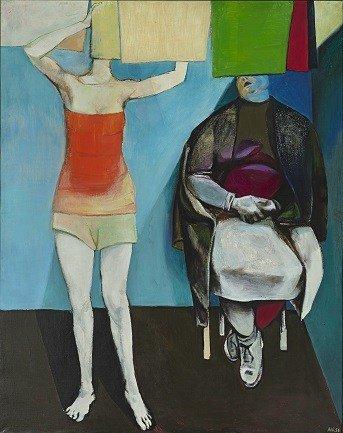 Madre e hija, La colada (1956)