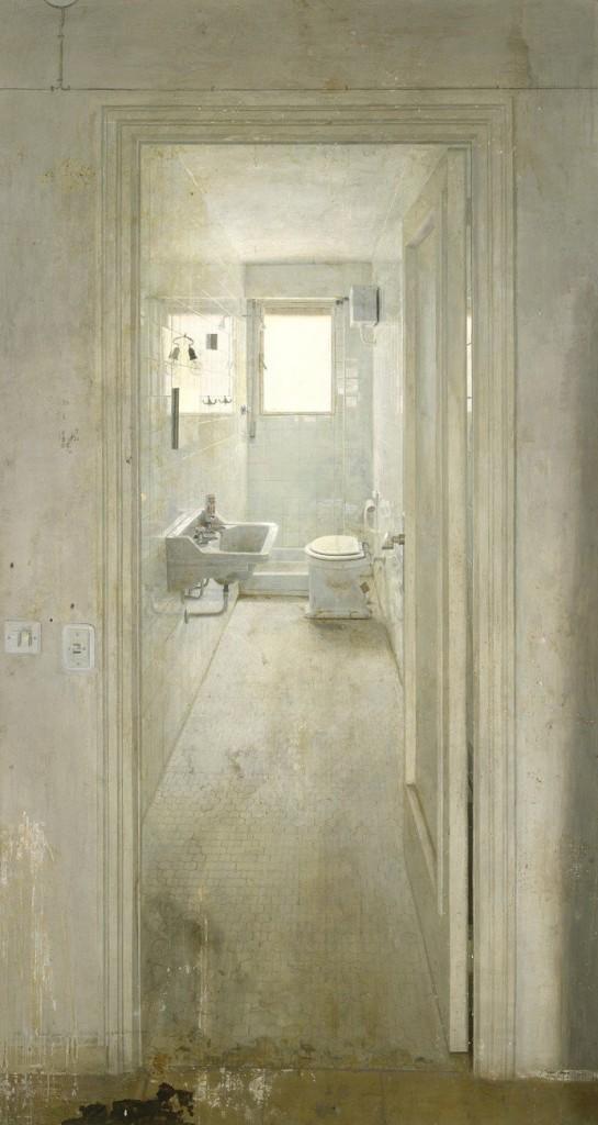 Cuarto de baño · Antonio López · 1966