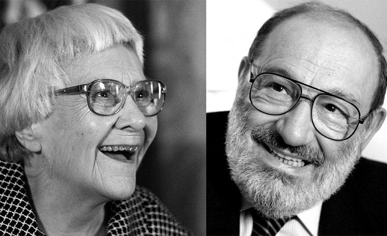 Harper Lee y Umberto Eco