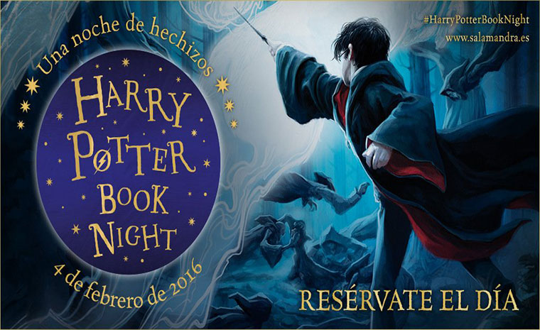 Cartel promocional de la Harry Potter Book Night
