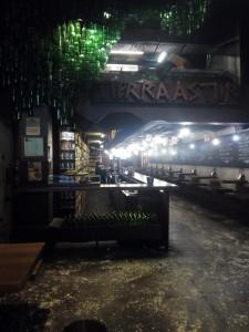 Interior del restaurante Tierra Astur
