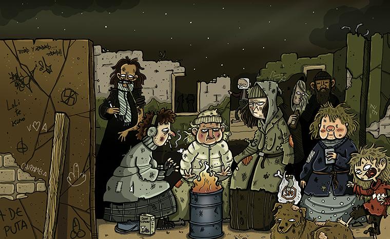 'Las mendigas', de Don Julio (El jueves)