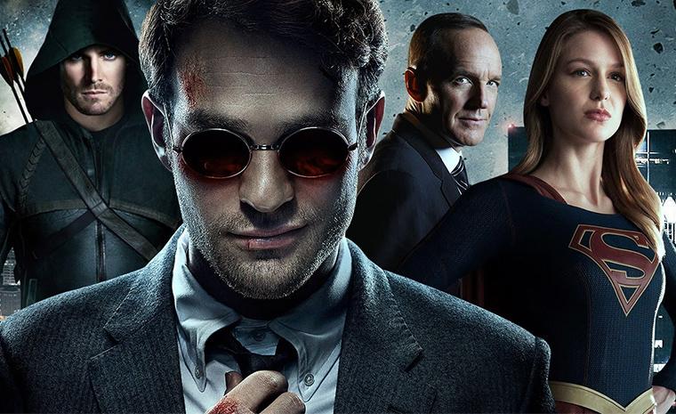 En los últimos tres años, DC y Marvel han trasladado su batalla de superhéroes a la TV.