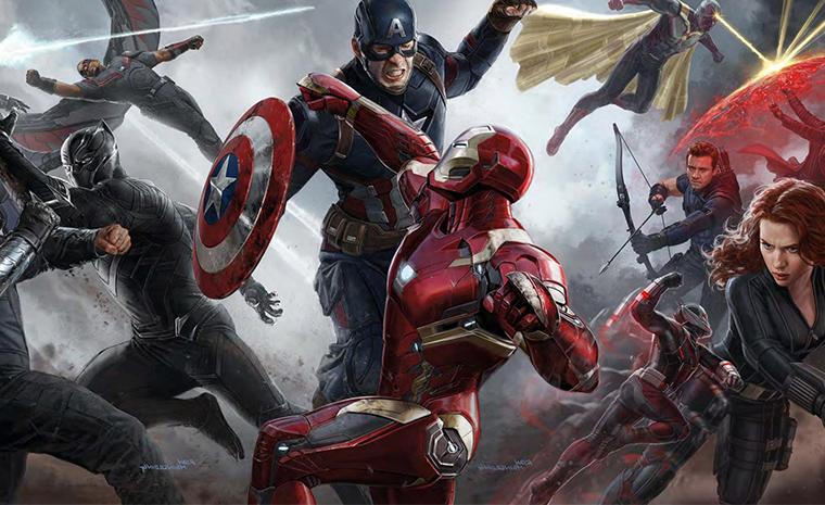 Capitán América se enfrenta a Iron Man en 'Capitán América: Civil War'