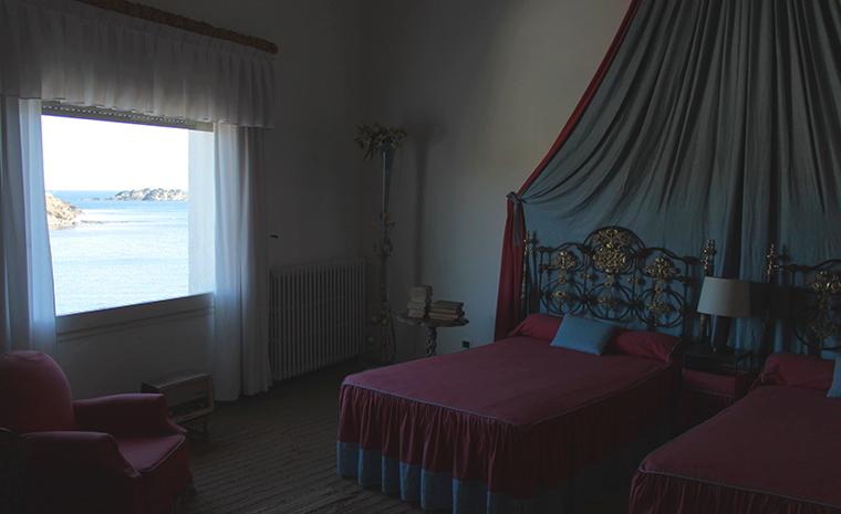 El dormitorio de Gala y Dalí
