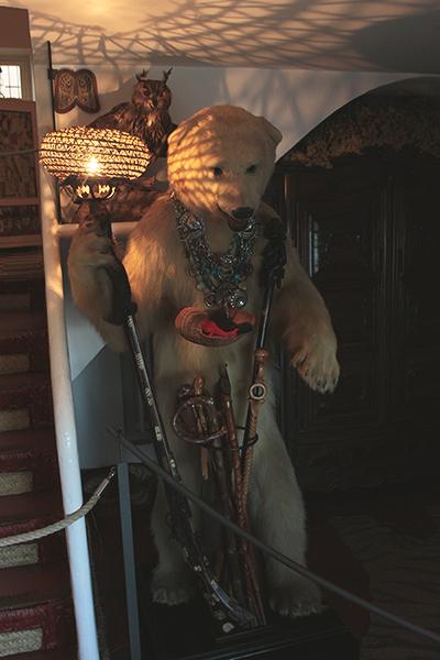 Vestíbulo del oso
