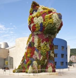 Puppy, la mascota que custodia el Museo Guggenheim