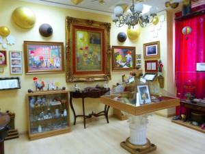 Interior de la Casita-Museo del Ratón Pérez