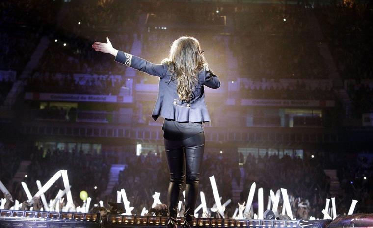 La noche de Cadena 100 reunía el pasado sábado, 9 de abril, a artistas del panorama musical nacional e internacional