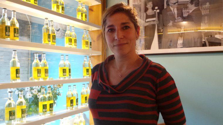 La periodista Lula Gómez, directora del documental 'Mujeres al frente'