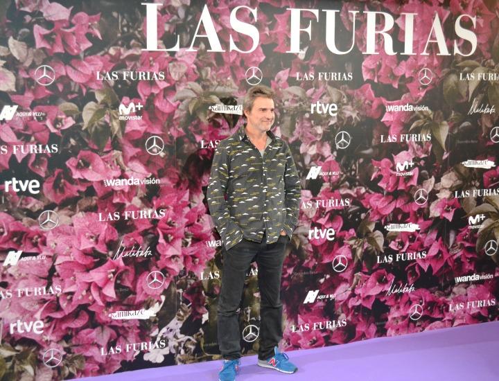 Alberto San Juan en el estreno de Las Furias