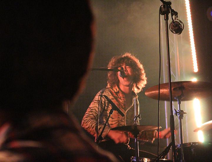 Borja Téllez, batería de Bengala