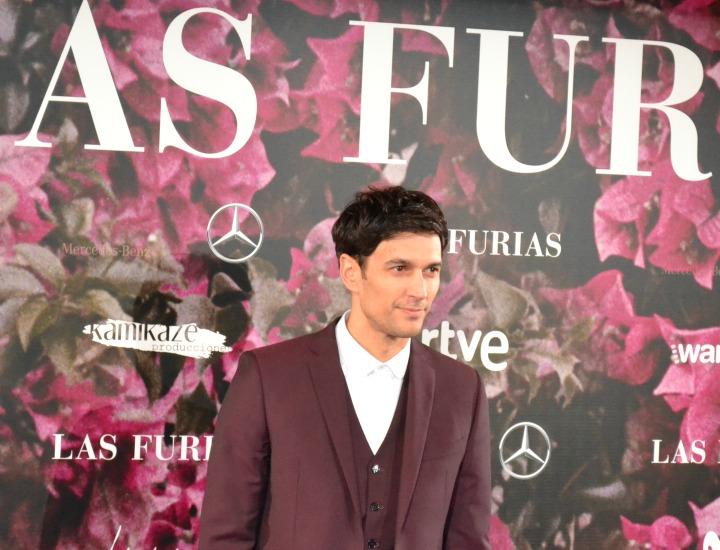 Cristobal Suárez en el estreno de Las Furias