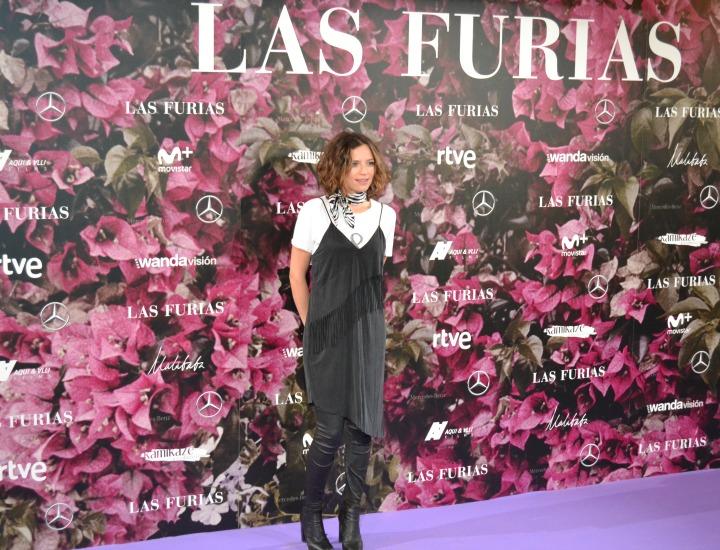 Cristina Alarcón en el estreno de Las Furias